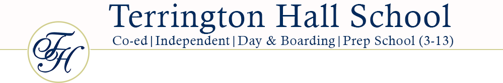 Terrington Hall school Logo
